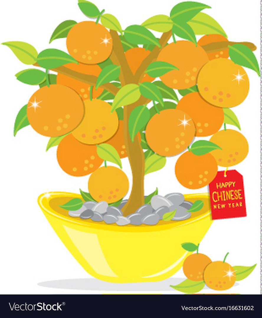 Happy New Year Orange 33