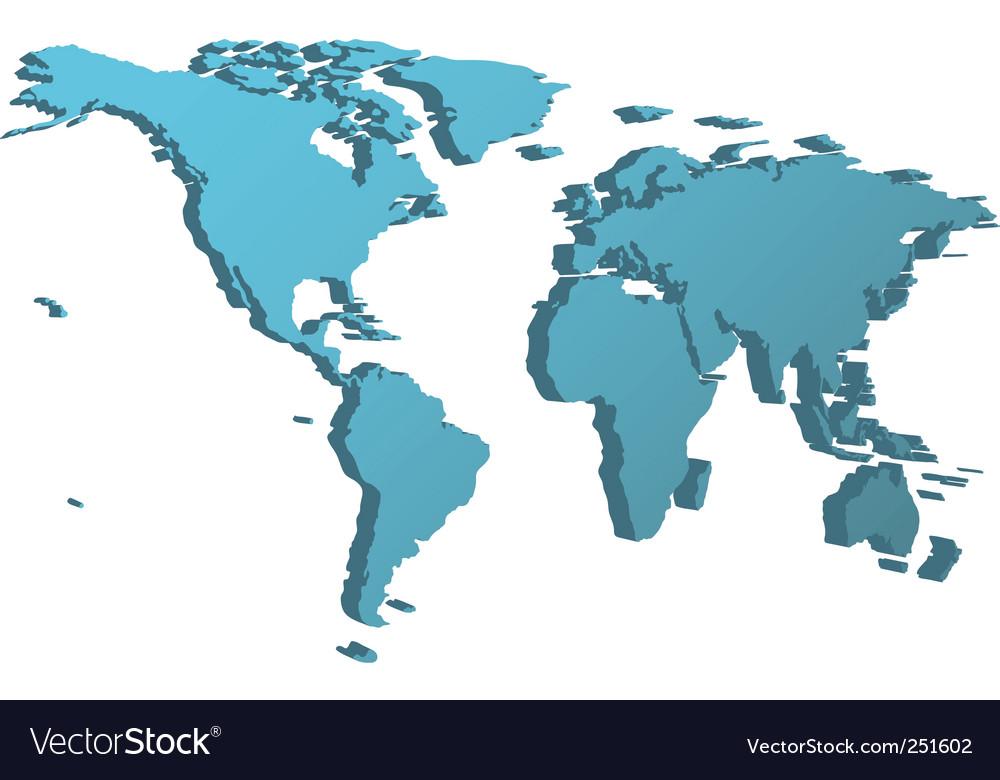 World map 3d view modern tattoos design world map 3d view gumiabroncs Images