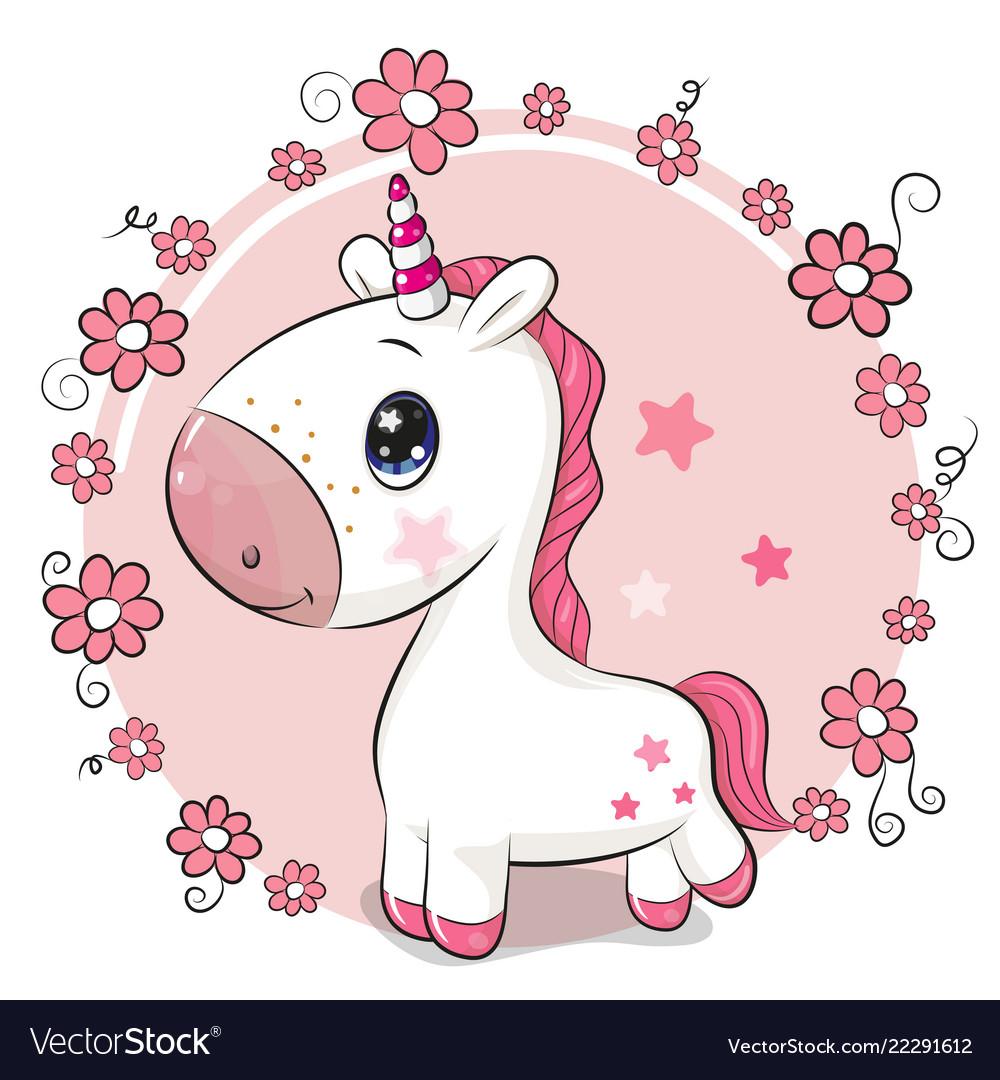 Cartoon Pink Flower Background Topsimages