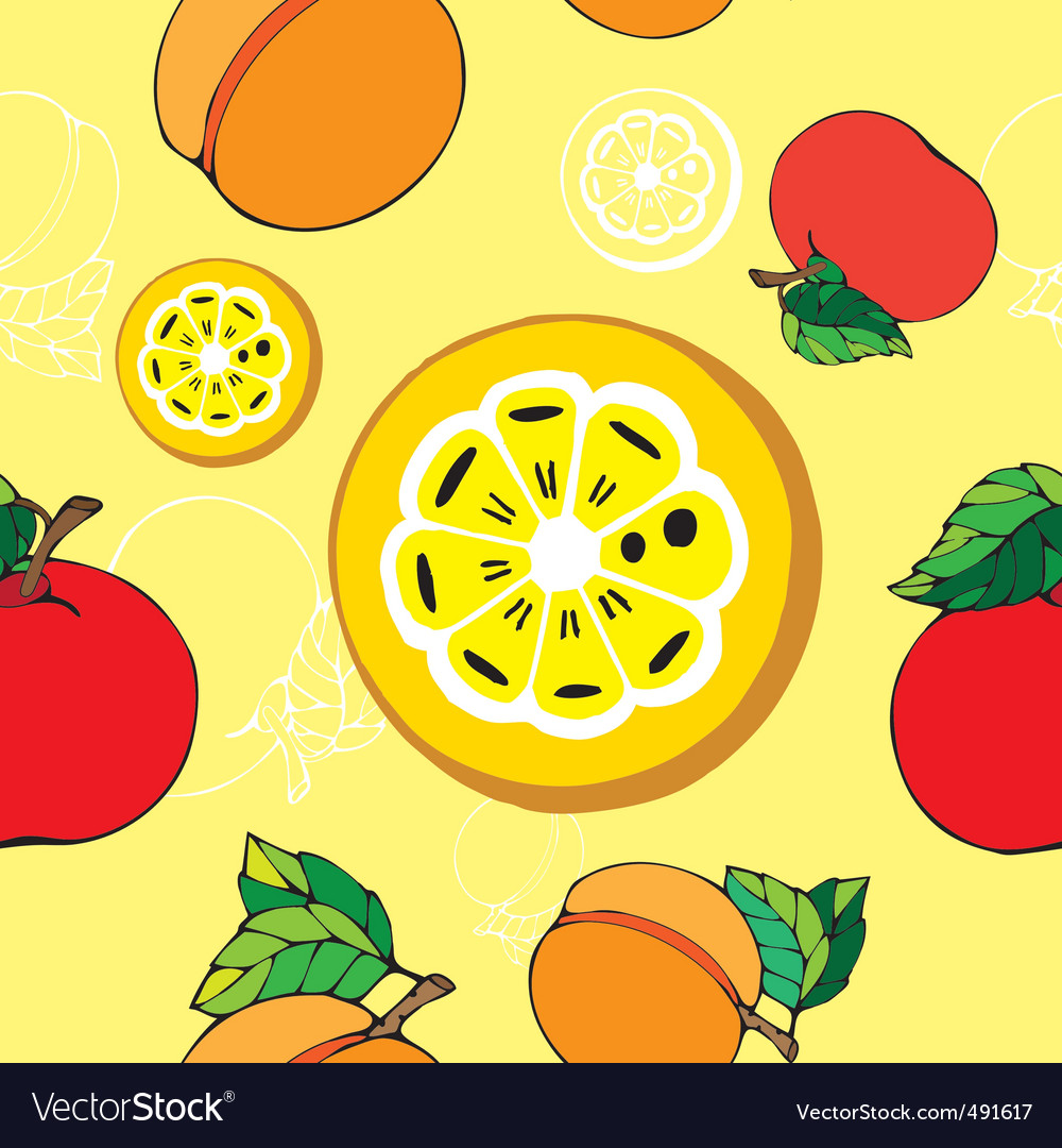 Fruit pattern print