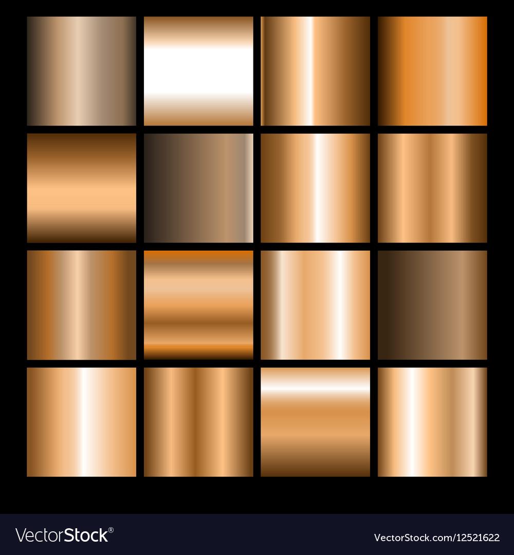 Bronze gradients