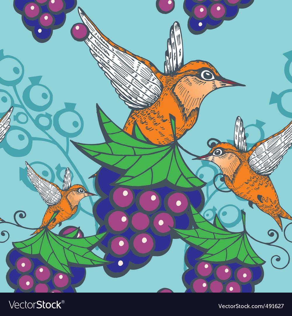 Humming bird pattern