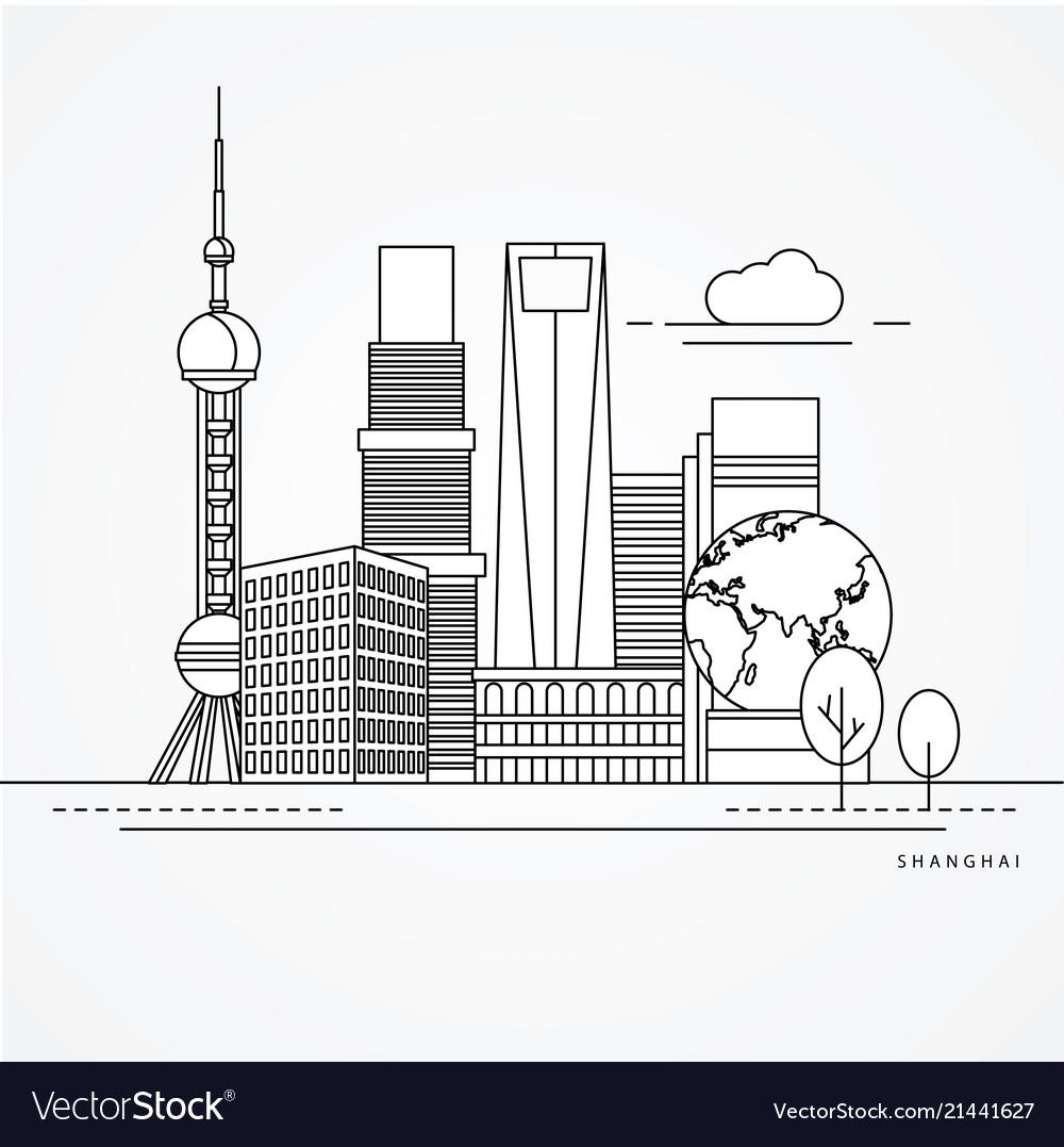 Linear shanghai china