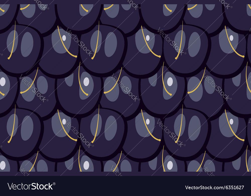 Seamless blackberry texture