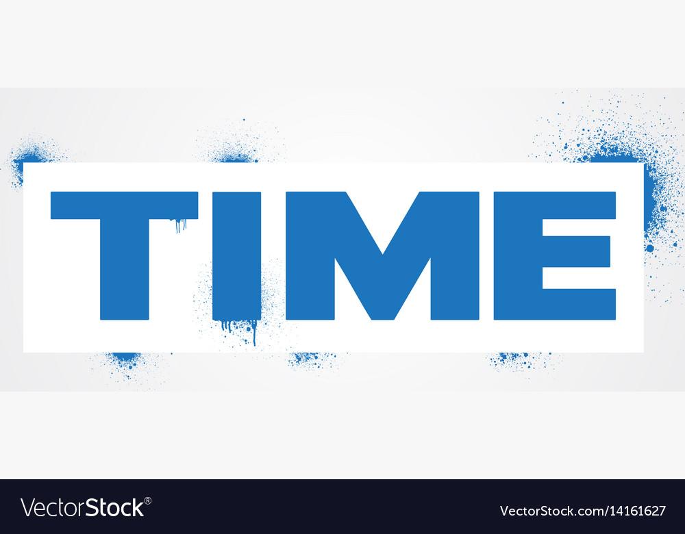 Time spray