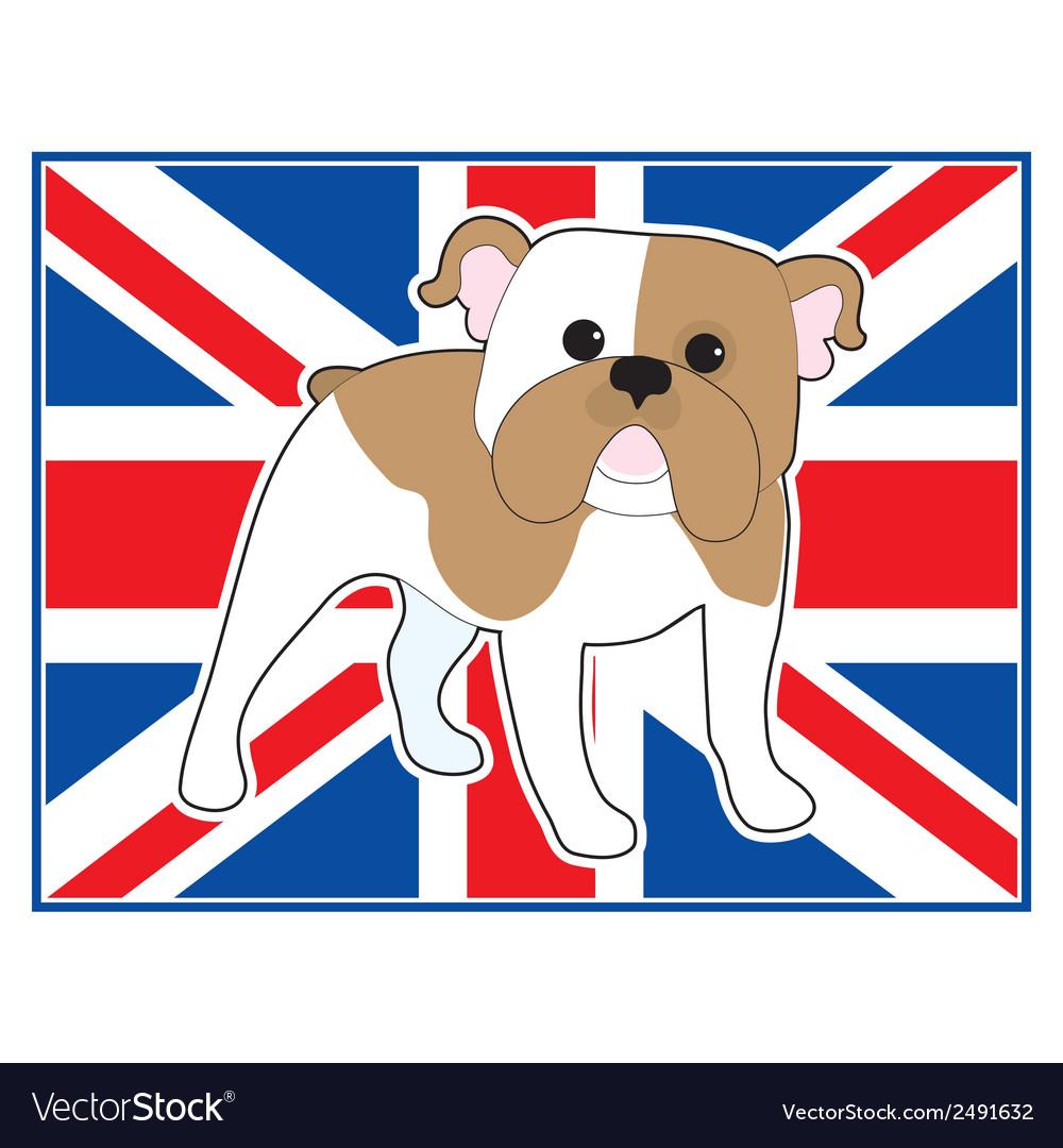English Bulldog Flag