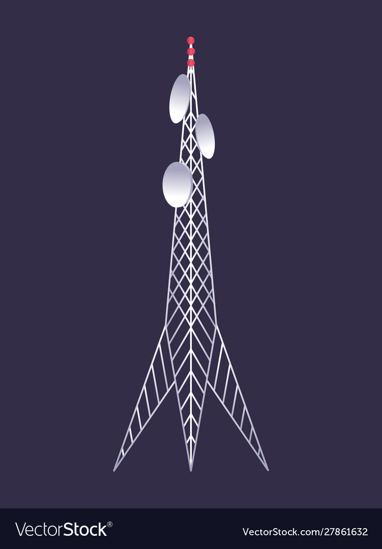Wireless tower tv radio network communication