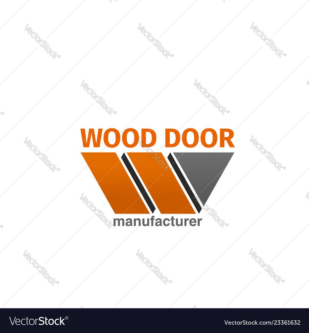 Wood door icon