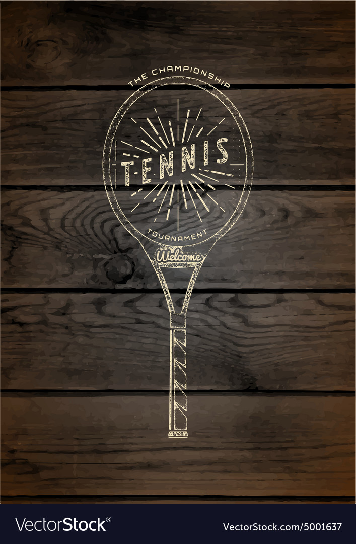 Tennis badges logos and labels for any use