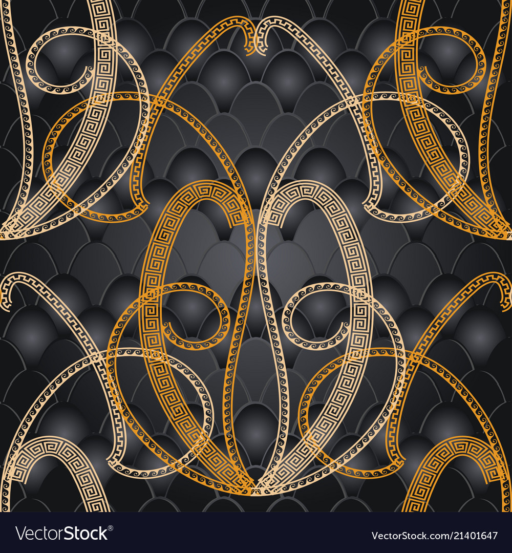 Abstract decorative greek seamless pattern