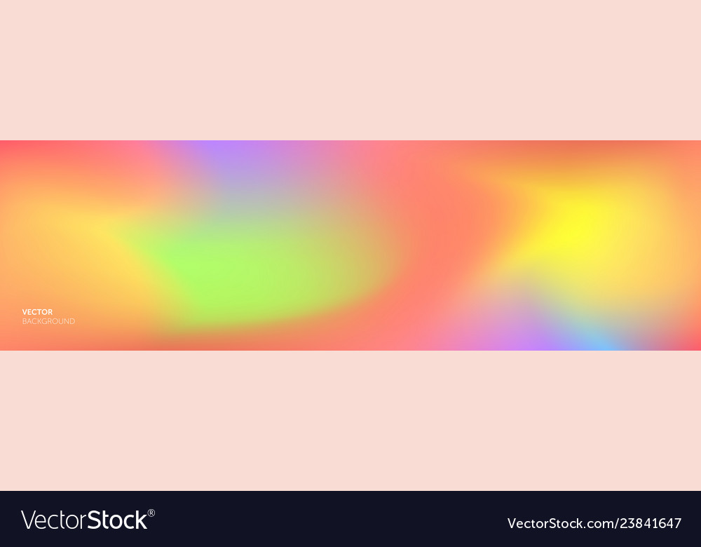 Color gradient background abstract rainbow