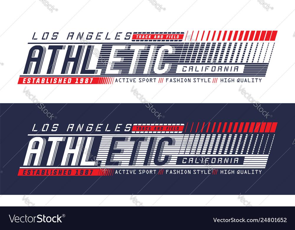 La california athletic sport