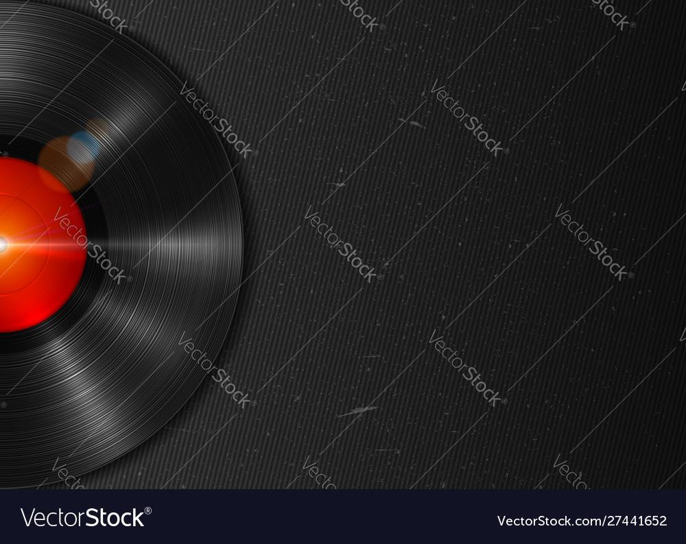 Long-playing lp vinyl record music background