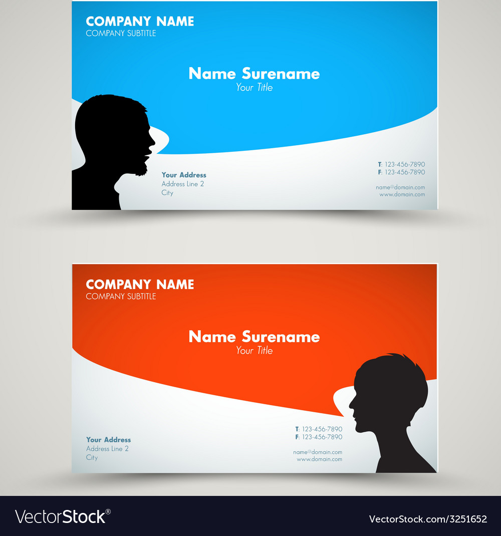 Set of modern business card templates royalty free vector set of modern business card templates vector image accmission Gallery