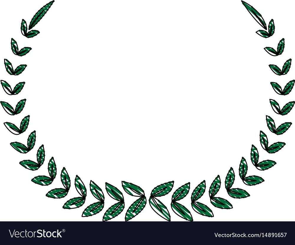 Laurel wreath winner sport decoration