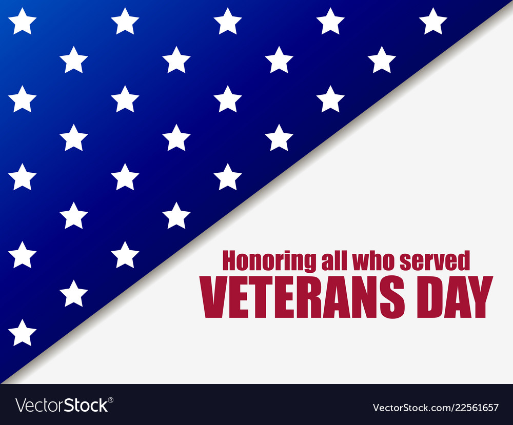 Veterans day 11th of november honoring all who