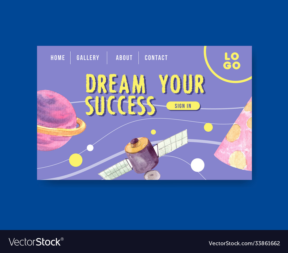 Back to school and education concept with website
