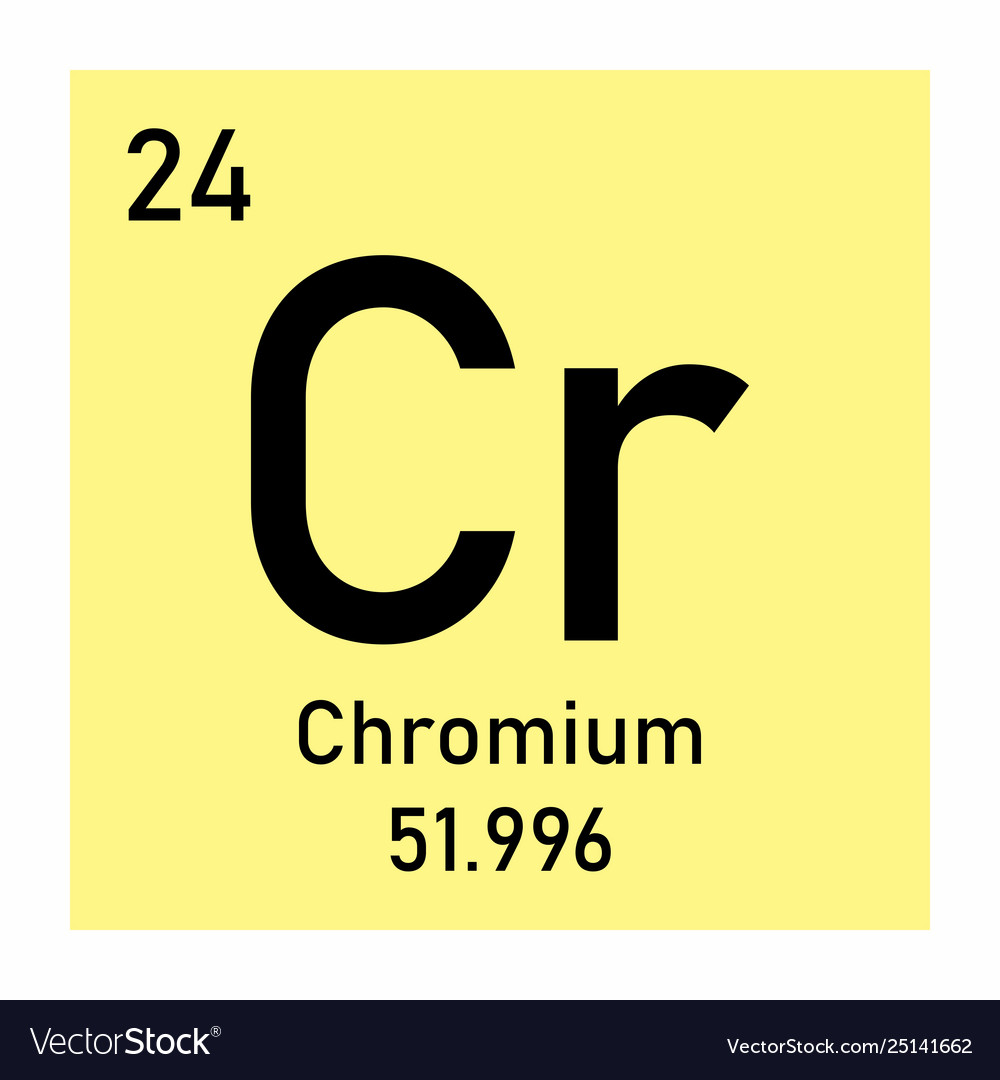 Chromium element icon