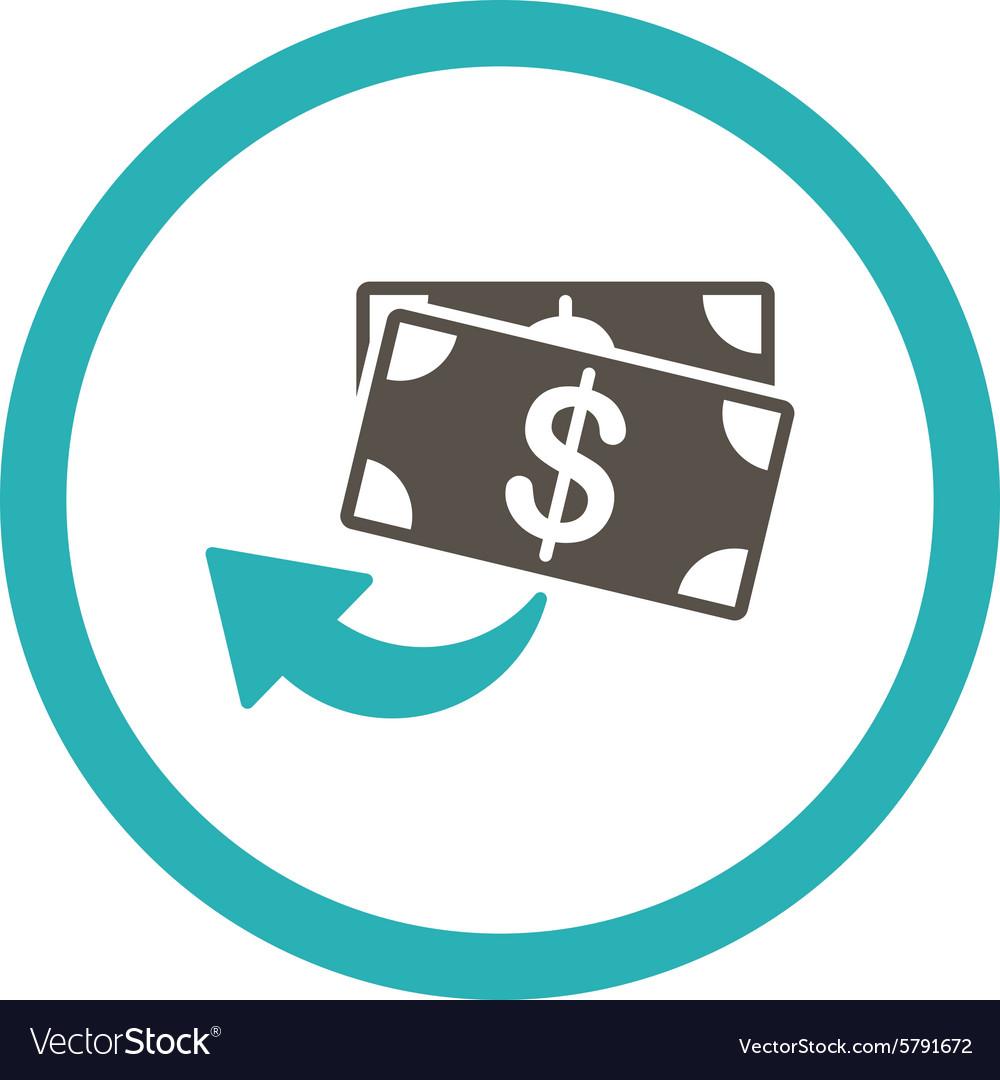 cashback icon royalty free vector image vectorstock vectorstock