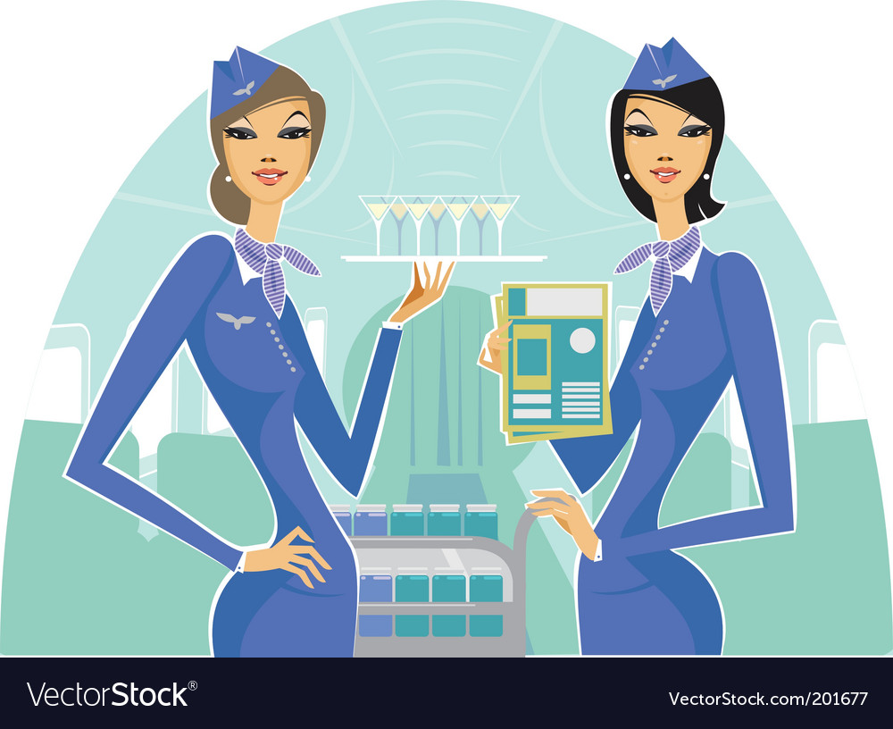 Welcome on board vector image