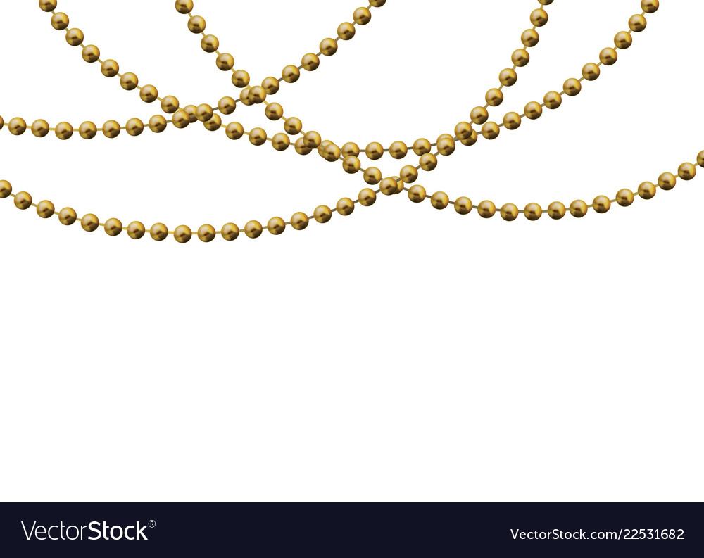 Beautiful gold beads