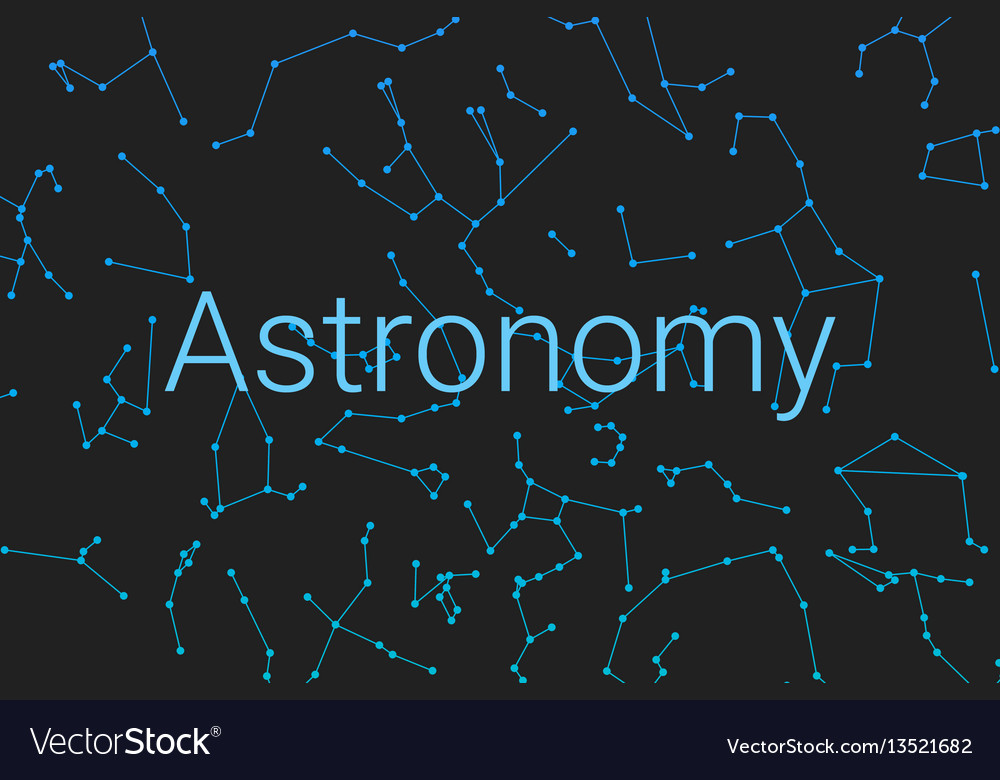 Cover for poster astronomy poster for the