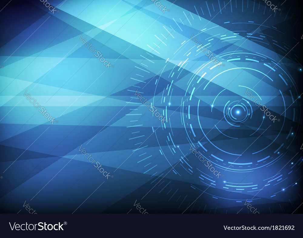computer scientific background template royalty free vector