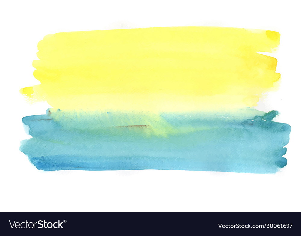 Abstract watercolor painting brush background