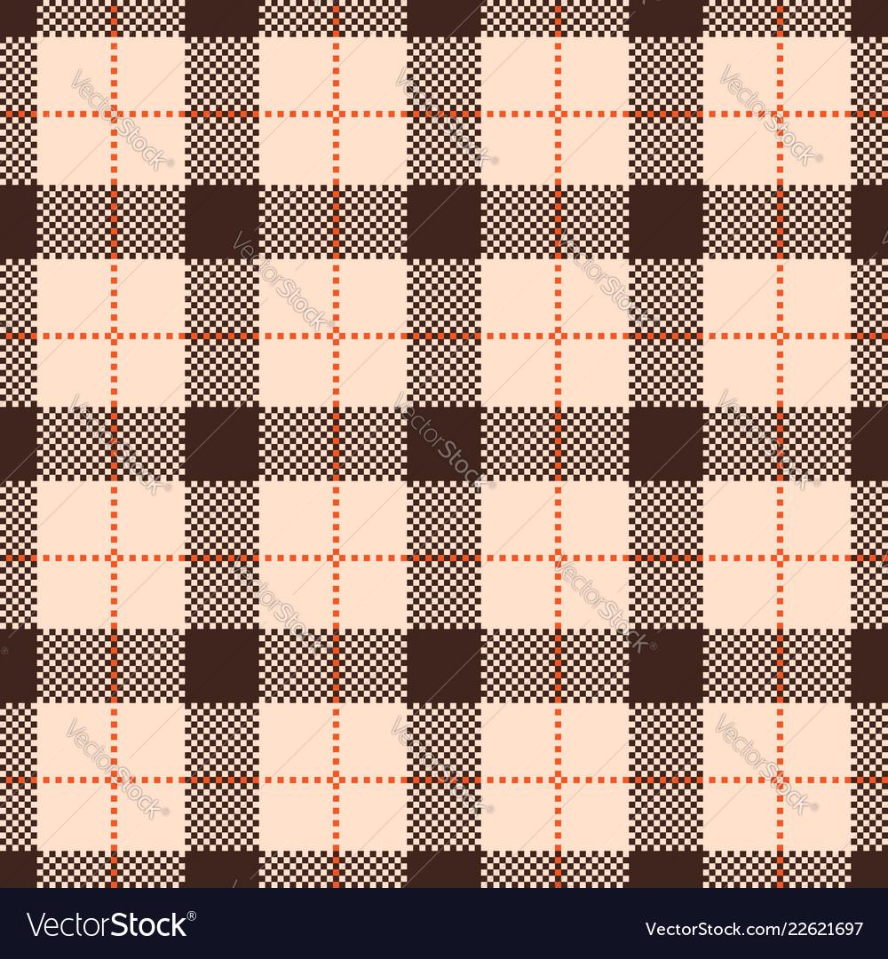Classic tartan and check plaid seamless patterns