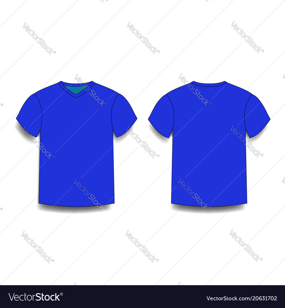 Perfect navy t shirt template adornment example resume for Blue t shirt template