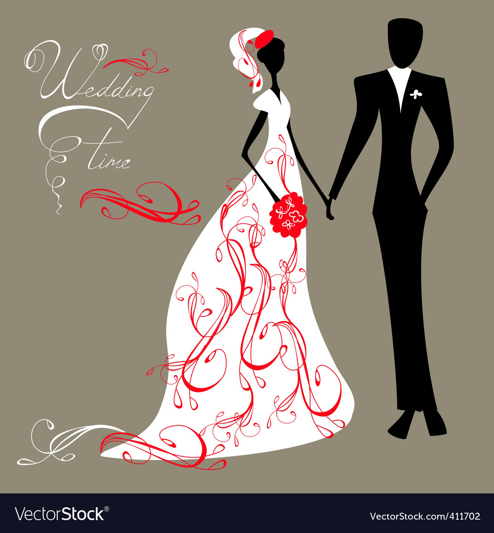 Here is a wedding background vector illustration includes a eps file