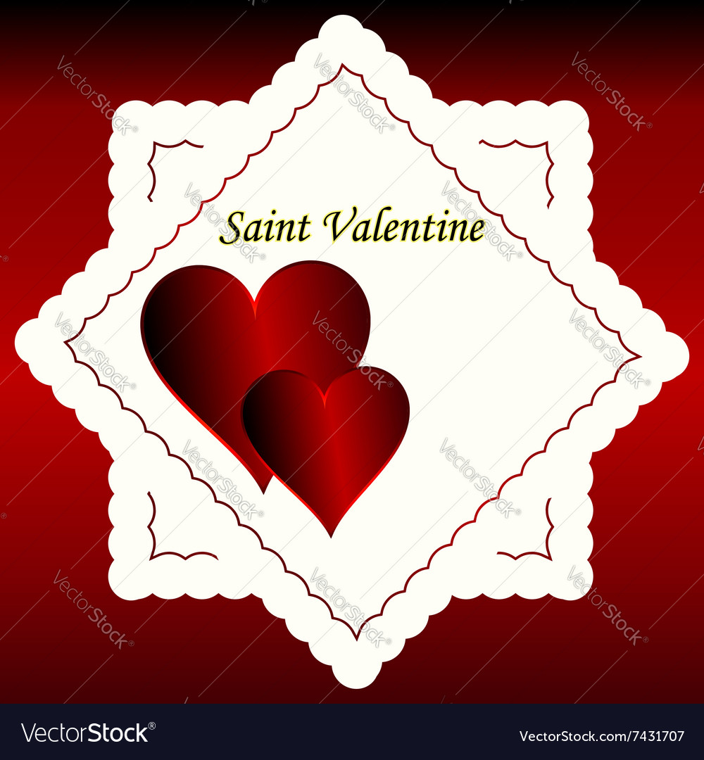 Heart Love Shape Red Symbol Day Design Valentine R