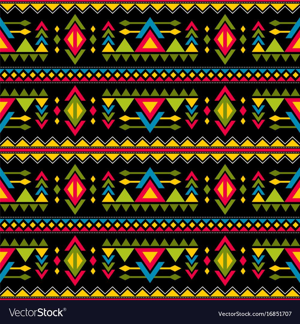 Navajo weaving fashion seamless pattern