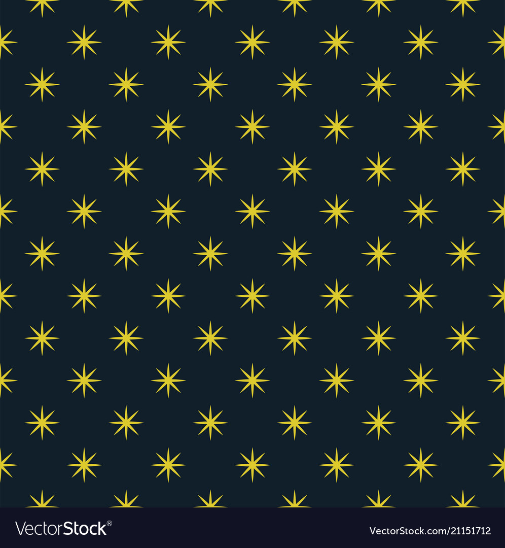 The abstract pattern of the night sky