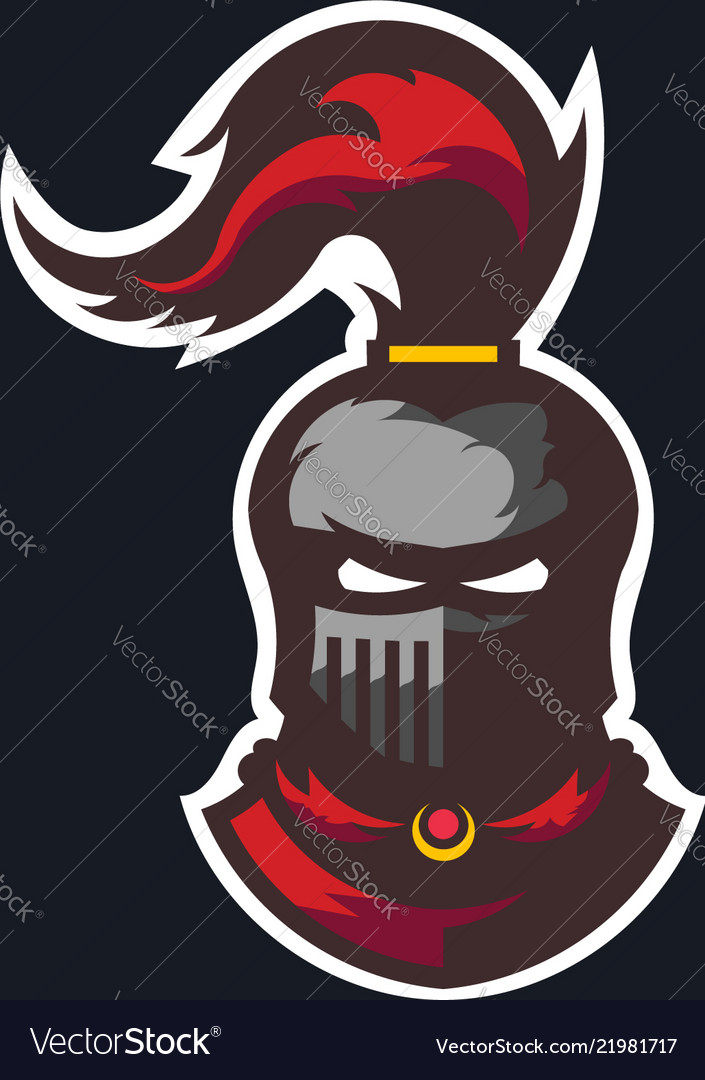 Knight medieval warrior logo