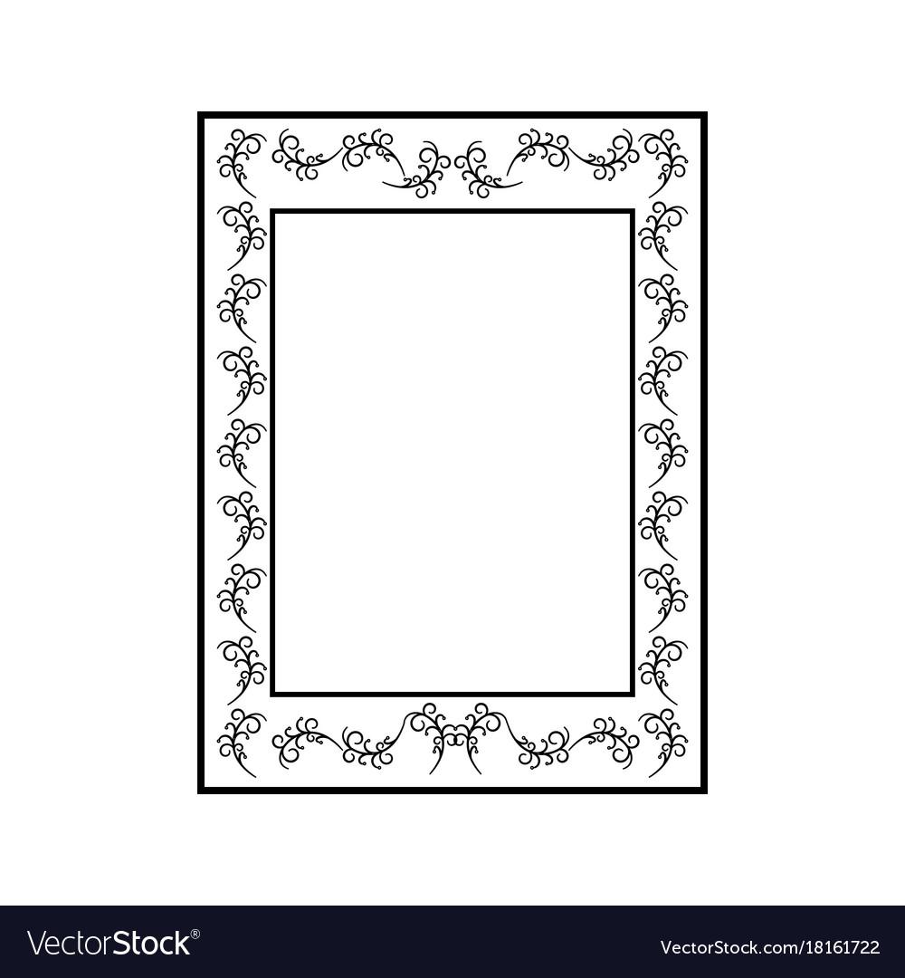 Frame rectangle card