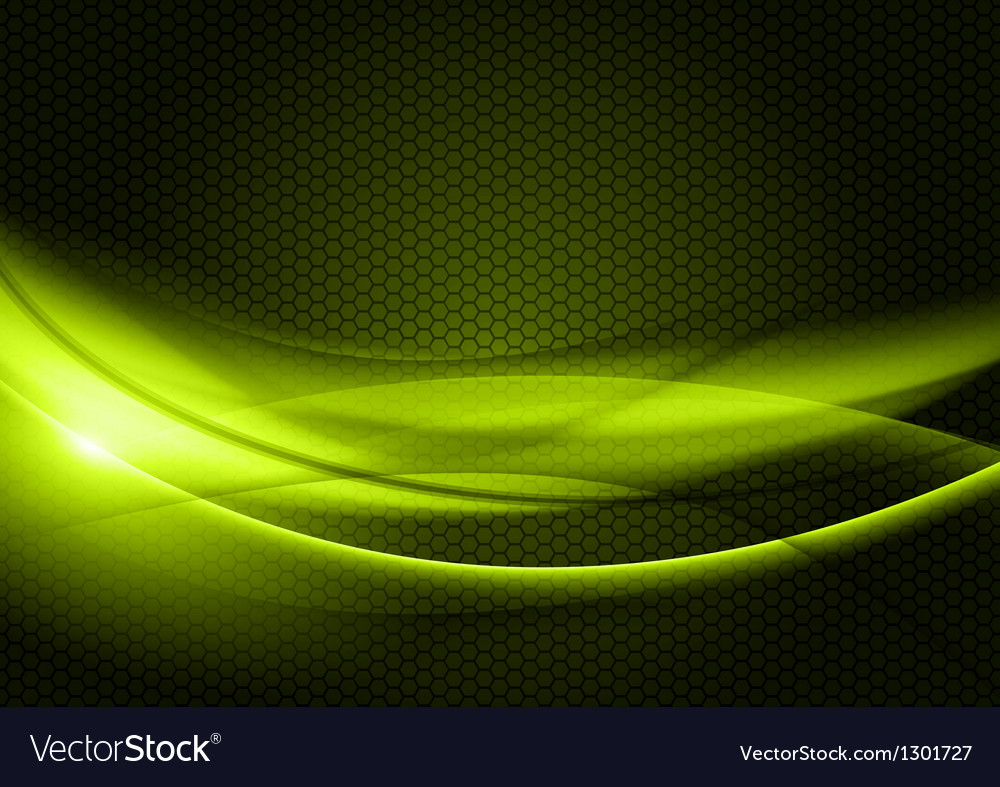 Abstract background green color vector image