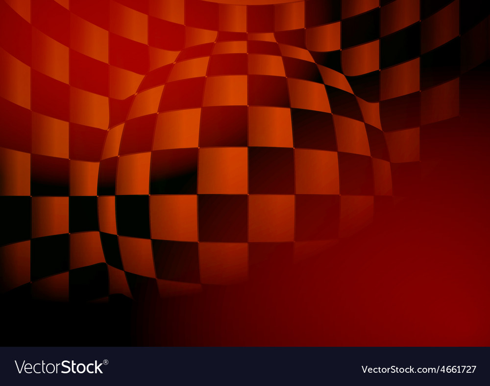 Design abstract chess board vector image