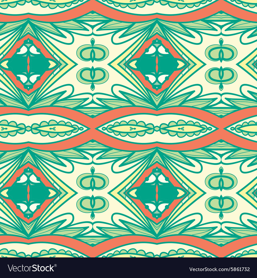 Abstract seamless ornament patternkaleidoscope