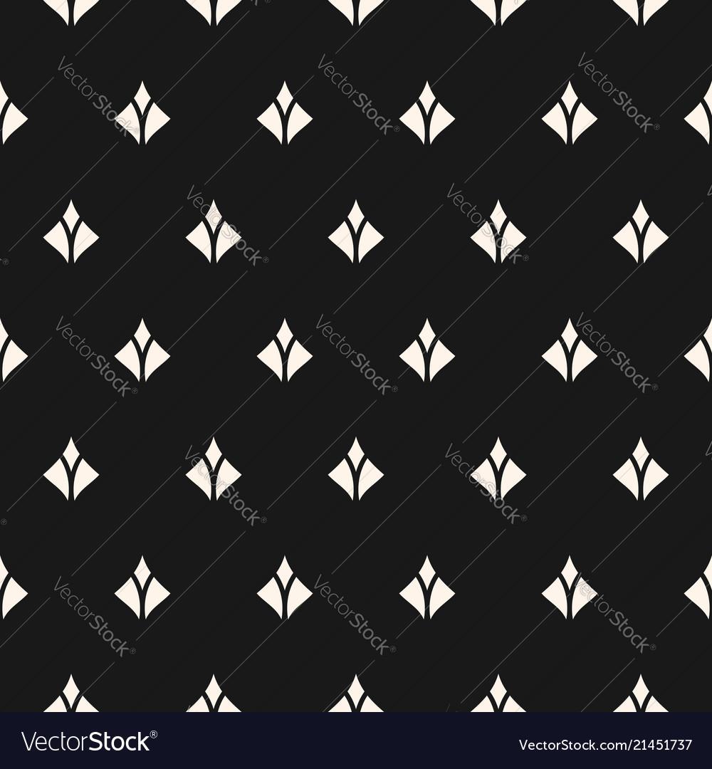 Seamless pattern with small diamond shapes