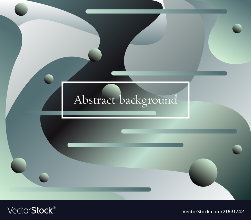 Futuristic background with fluid abstract elements