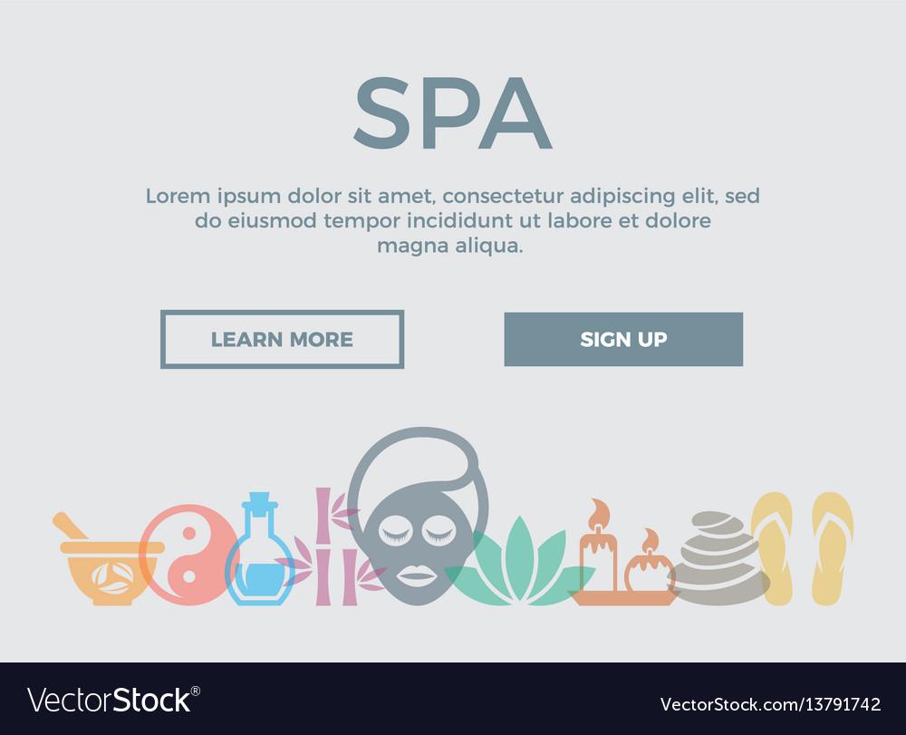 Spa concept header