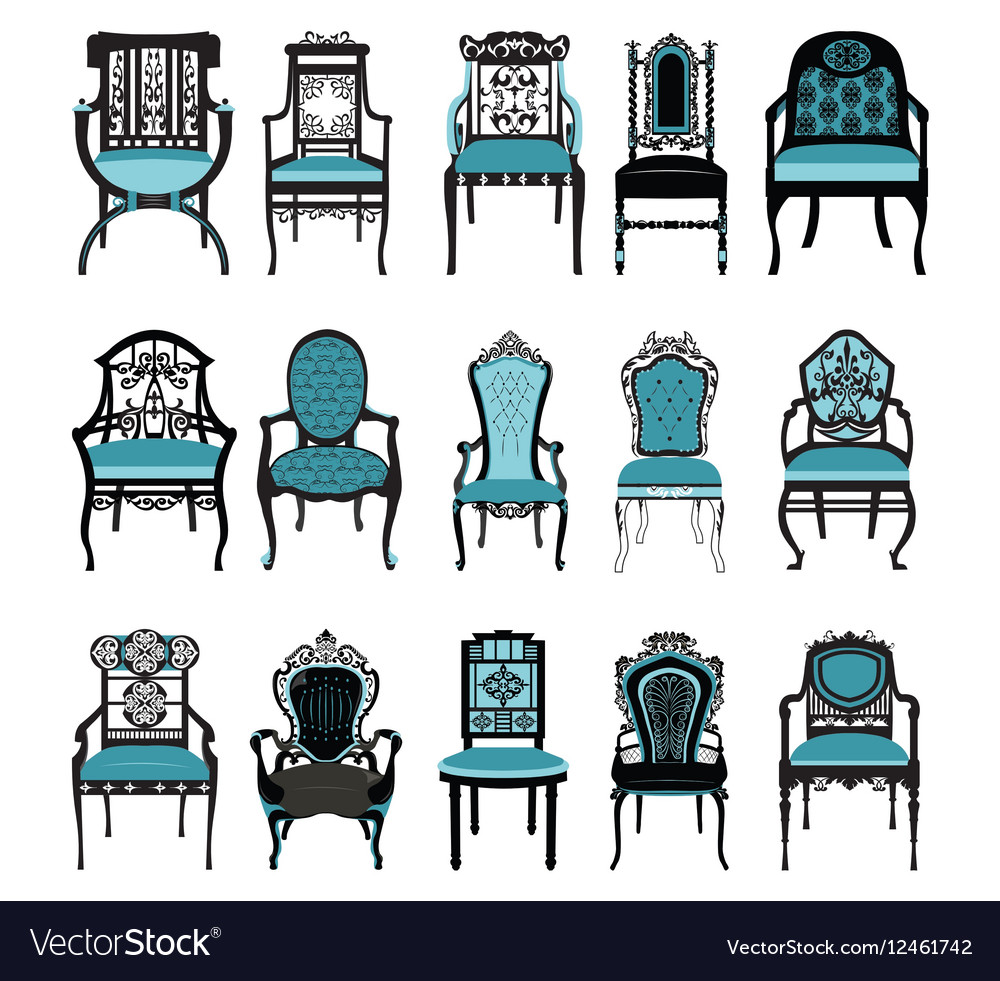 Astonishing Vintage Chair Furniture Set Collection Download Free Architecture Designs Scobabritishbridgeorg