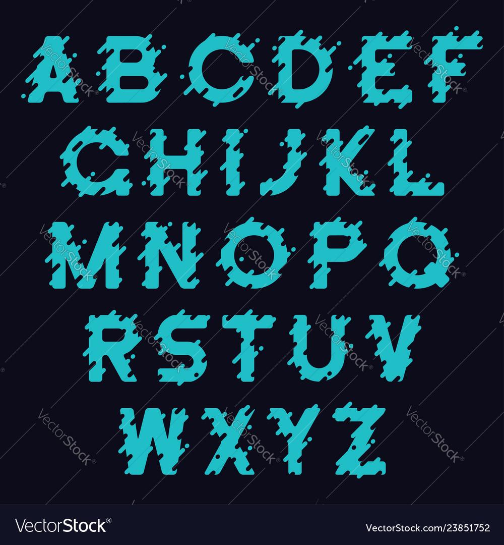 Bold font