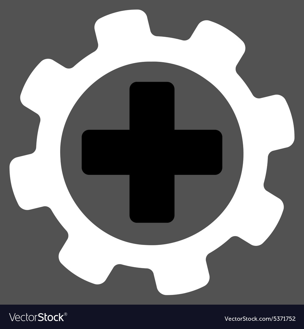 Medical Settings icon vector image on VectorStock