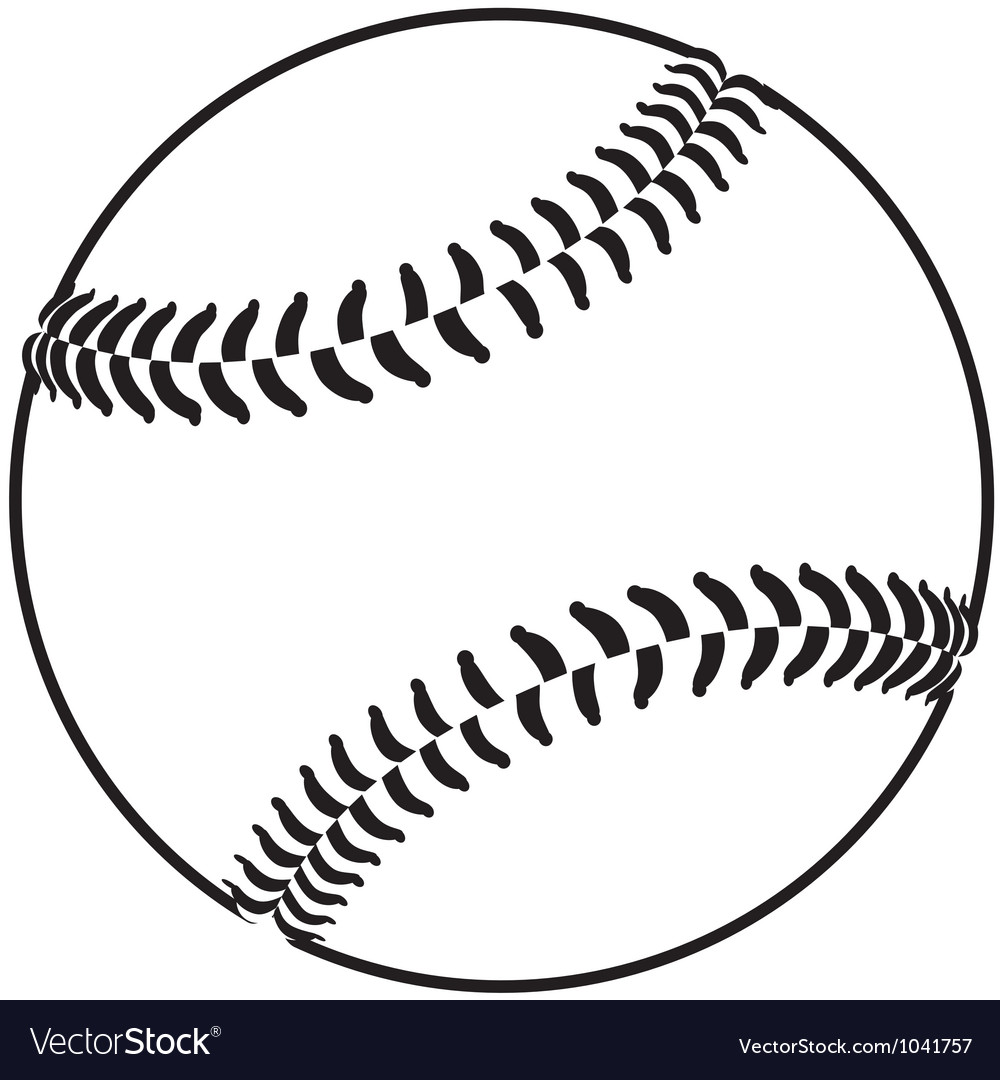 baseball royalty free vector image vectorstock rh vectorstock com baseball factory baseball vector illustration