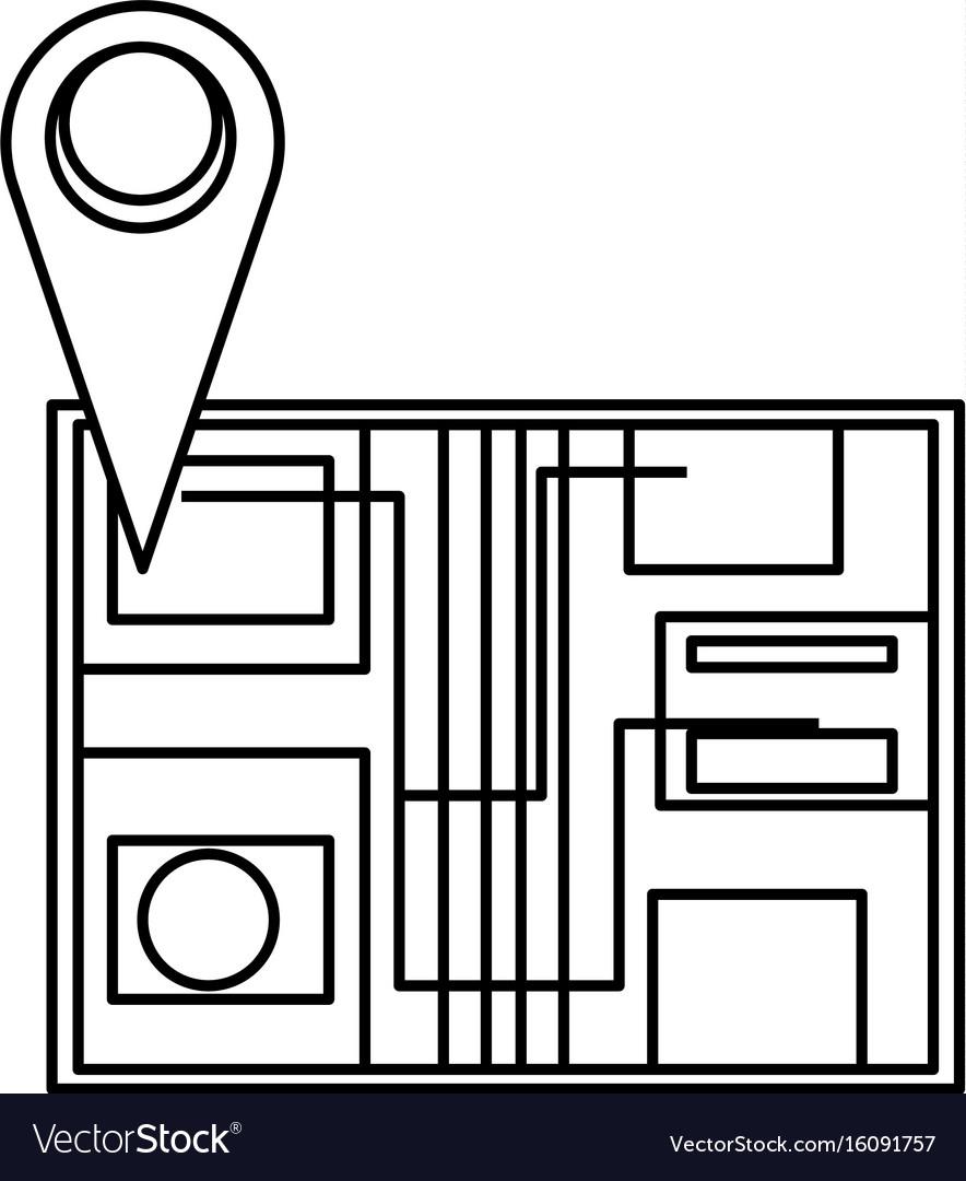 Map pin location