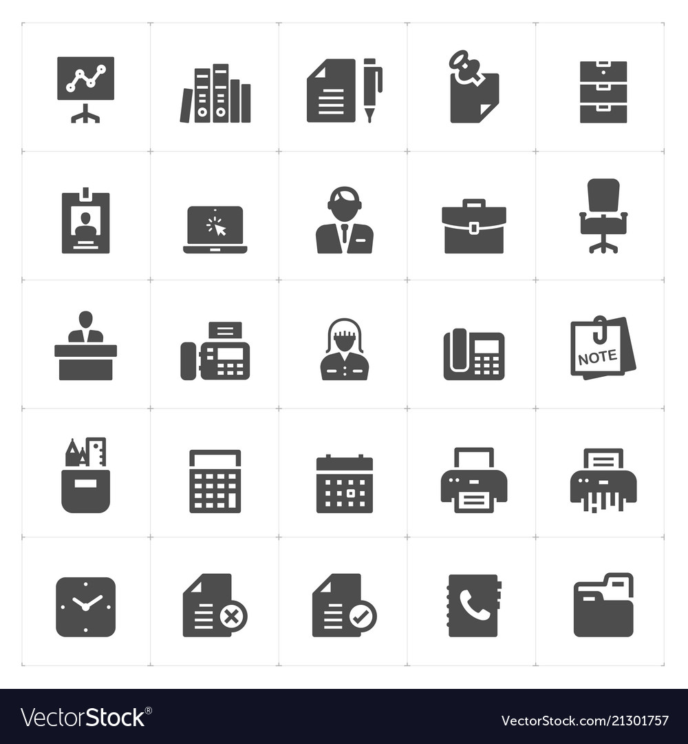 Office and stationary filled icon
