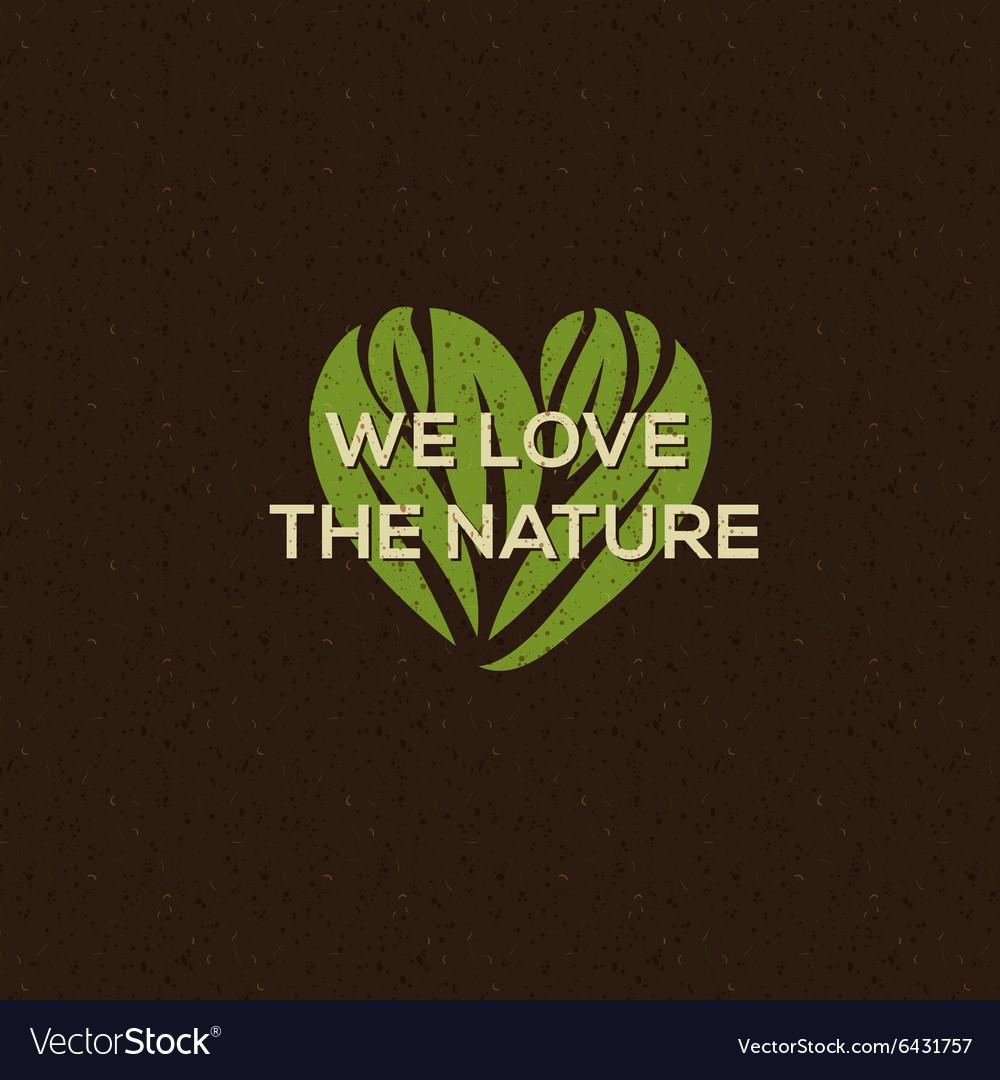 Organic food logo emblem for natural food drink