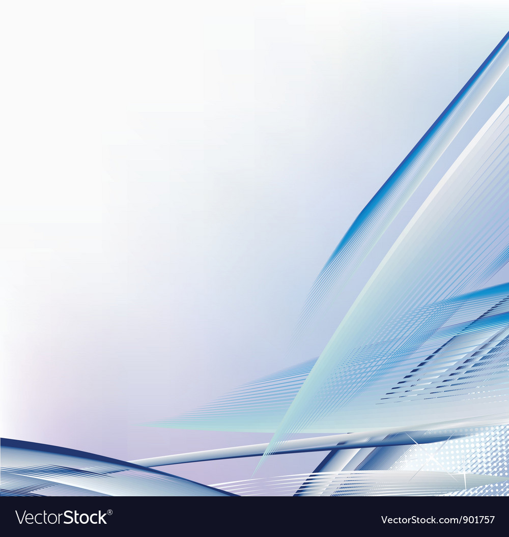 Smooth light lines background
